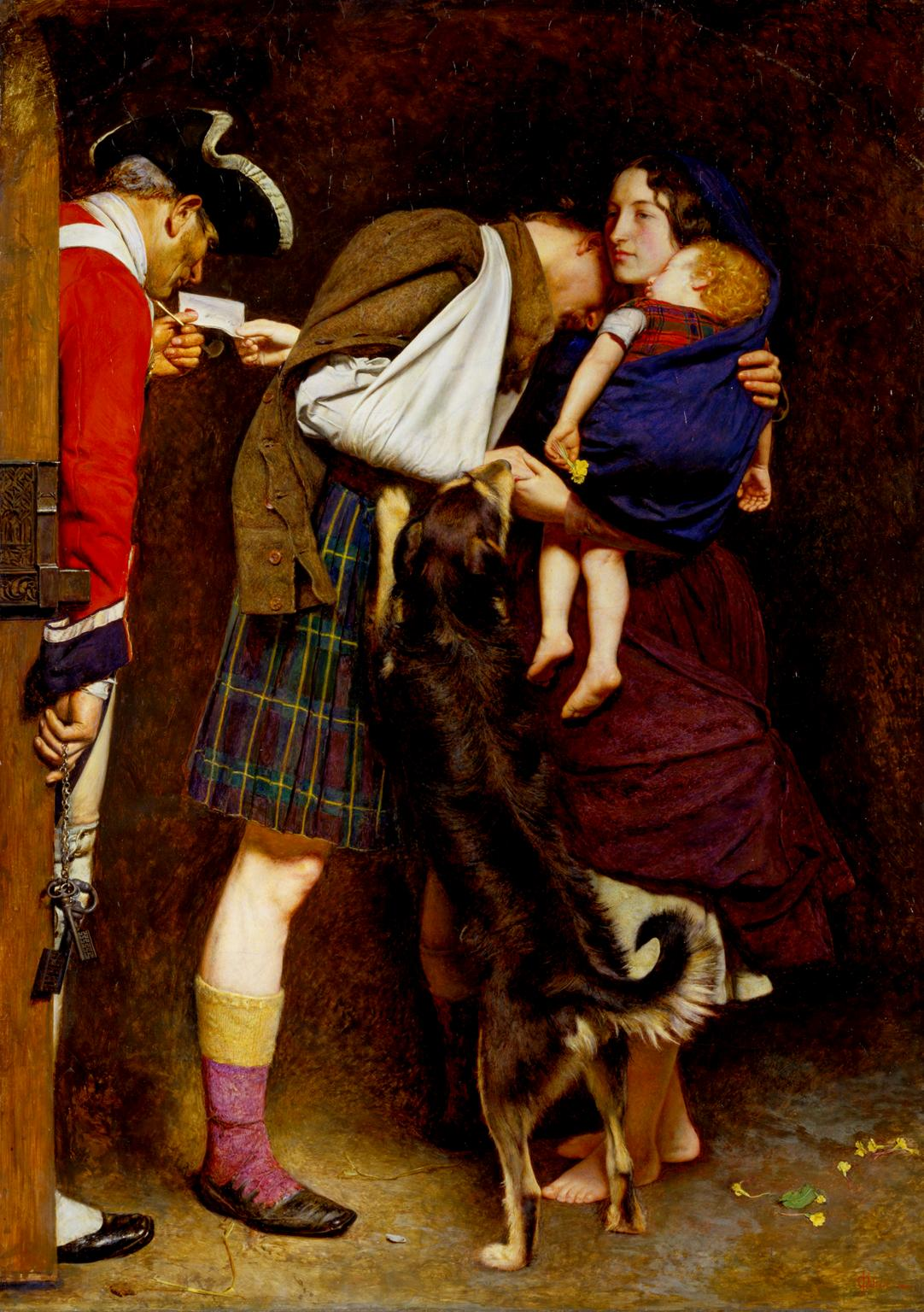 The Order of Release 1746 1852-3 by Sir John Everett Millais, Bt 1829-1896